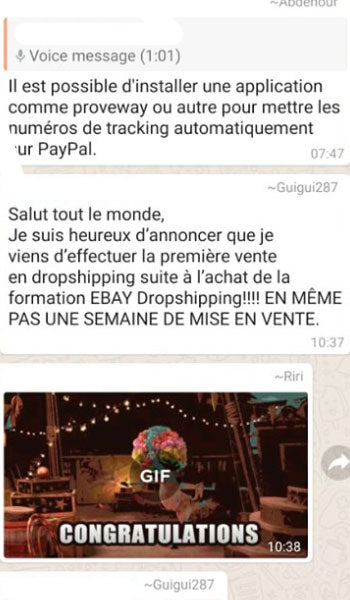 cours dropshipping
