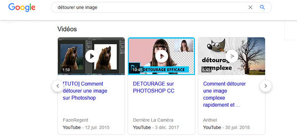 referencement naturel youtube