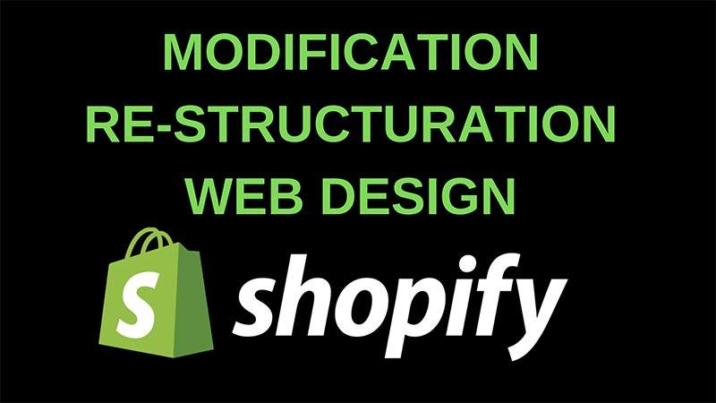 Design de boutique Shopify