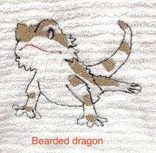 Load image into Gallery viewer, Embroidered animal designs
