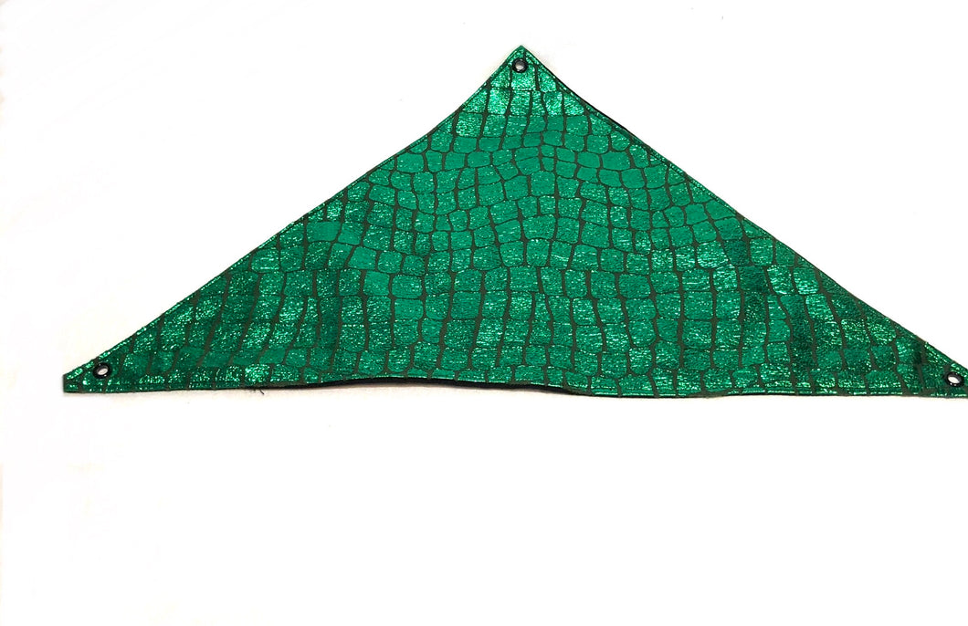 Reversable hammock made of green scale material
