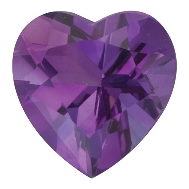 Amethyst Facets Square,Heart and Round