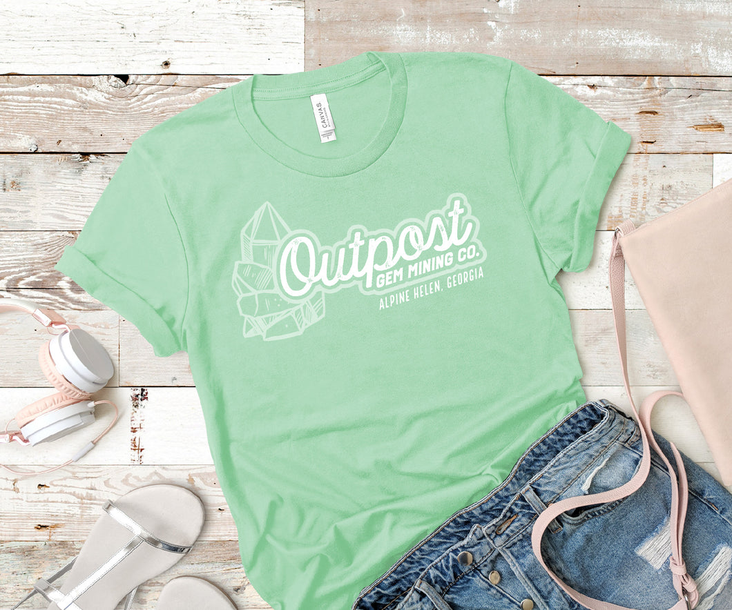 Outpost Vintage Logo Soft Tee