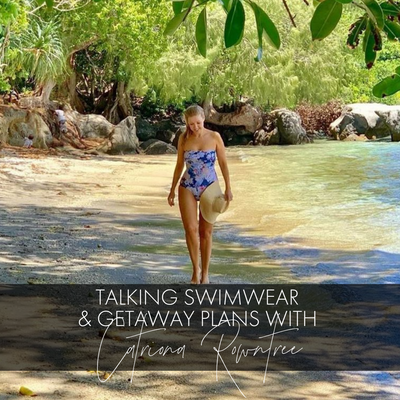 Australia's Queen of Travel Talks Swimwear + Getaway Plans