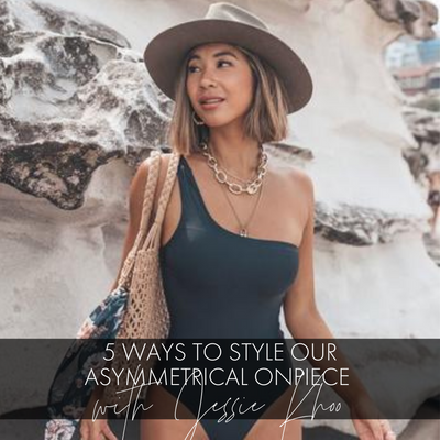 5 Ways To Style Our Iconic Asymmetrical One Piece