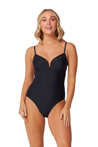 Monte and Lou black V wire one piece