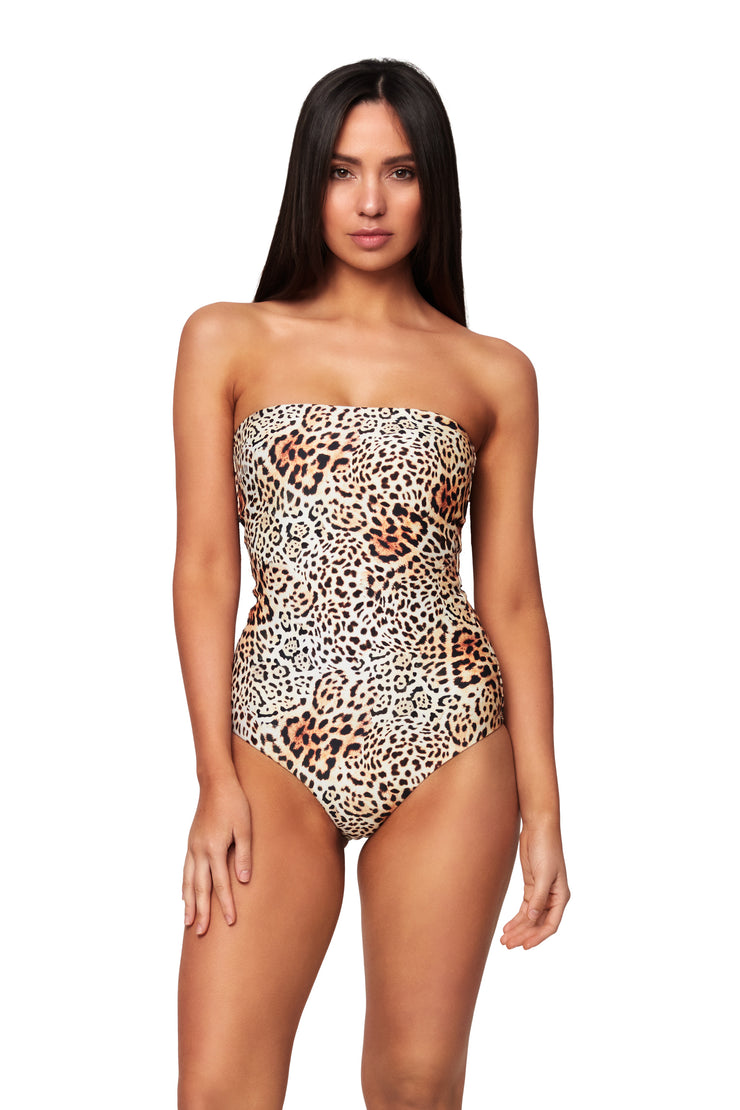 Free Spirit Bandeau Maillot - One Piece - Monte & Lou