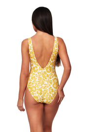 Maui Deep V Neck Maillot - One Piece - Monte & Lou