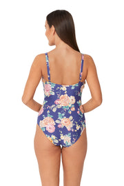 Brightest Bloom Multi Fit Tab Front Maillot - Monte & Lou