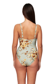 Wild Rose E/F Cup Cross Over Maillot - One Piece - Monte & Lou