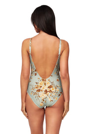 Wild Rose Ballet Maillot - One Piece - Monte & Lou