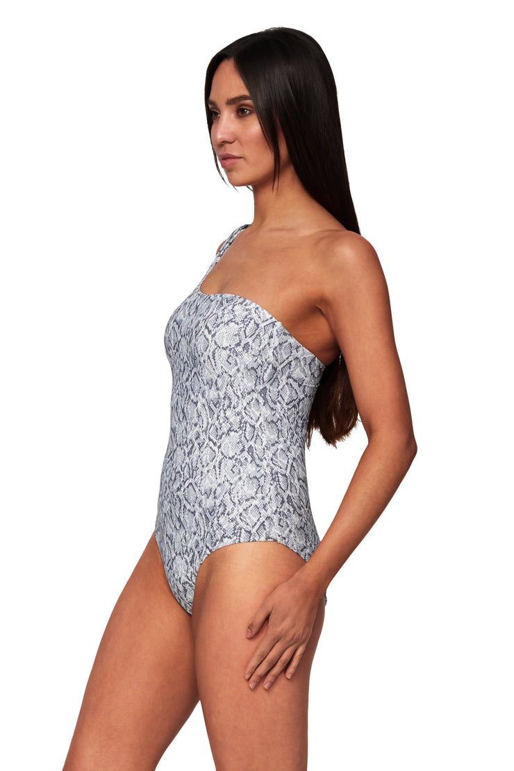 Copperhead Asymmetrical Maillot - One Piece - Monte & Lou