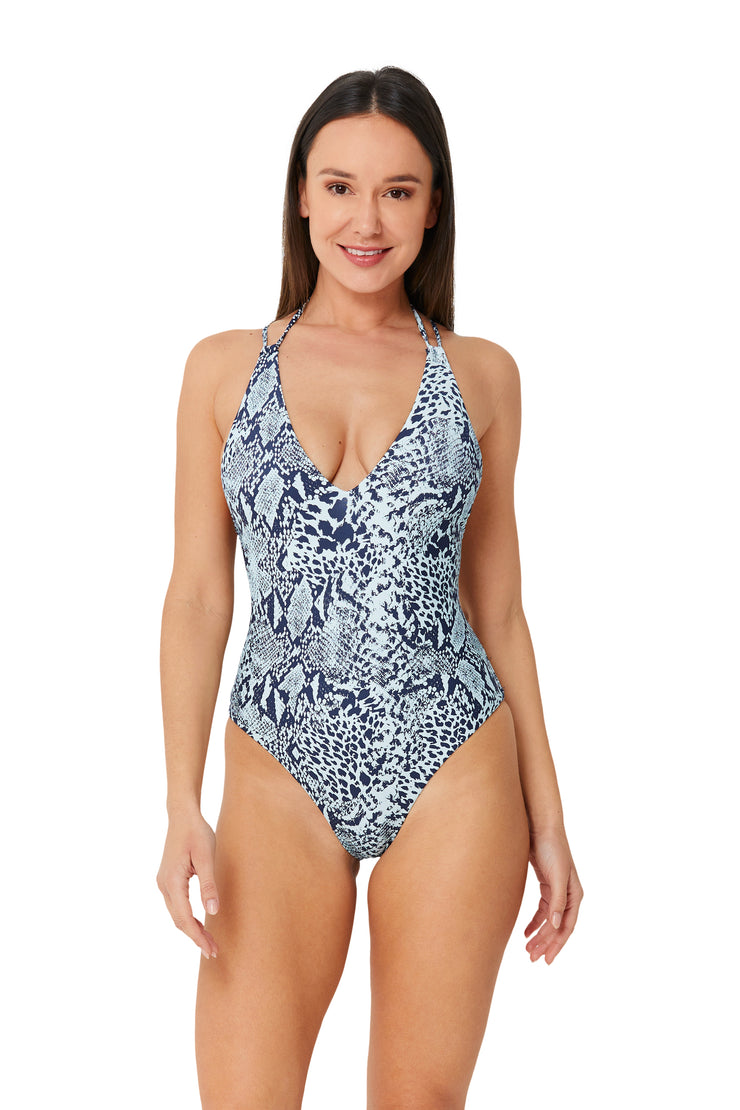 Python Neve Plunge Maillot