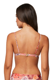 Simeulu Smocked Fixed Tri Top - Bikini Tops - Monte & Lou