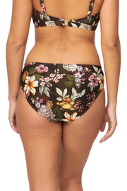 Free Spirit Ruched Panel Pant - Bikini Bottoms - Monte & Lou