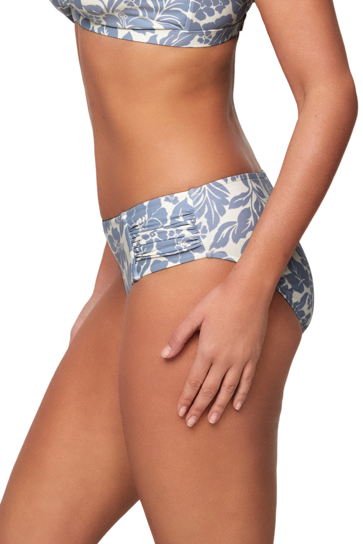 Maui Ruched Panel Pant - Bikini Bottoms - Monte & Lou
