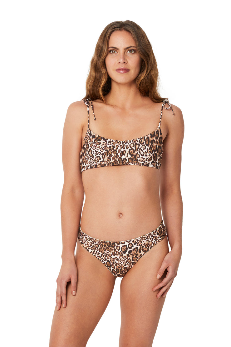 Plantation Wild Thing Tie Shoulder Bralette