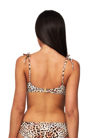 Free Spirit Tie Shoulder Crop Top - Bikini Tops - Monte & Lou