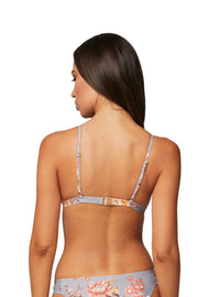 Flourish Fixed Tri Bra Top - Bikini Tops - Monte & Lou
