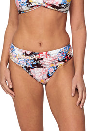 SoCal Mid Rise Ruched Pant - Bikini Bottoms - Monte & Lou