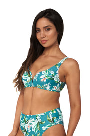 Hot Tropics V Crop Top - Bikini Tops - Monte & Lou