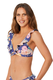 Brightest Bloom Frill Tri Bra