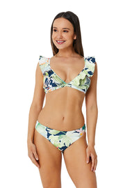 Vacation Frill Tri Bra