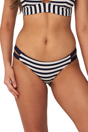 Hamilton Stripe Twin Band Hipster - Bikini Bottoms - Monte & Lou