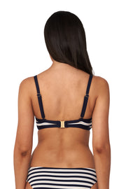Hamilton Stripe Crop Top - Bikini Tops - Monte & Lou