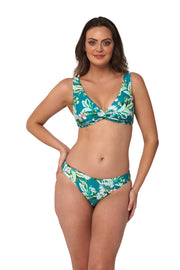 Hot Tropics Multifit Twist Crop - Bikini Tops - Monte & Lou