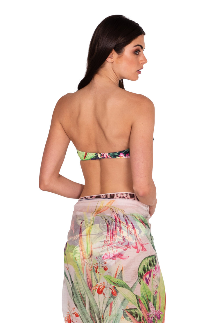 Jungle Bloom Sarong - Clothing - Monte & Lou