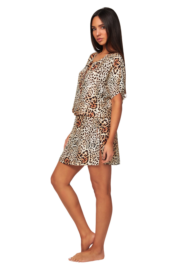 Free Spirit Shirt Dress - Clothing - Monte & Lou
