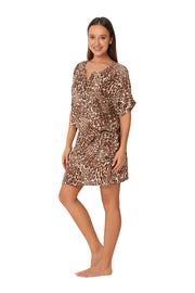 Plantation Wild Thing Short Sleeve Shirtdress