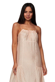 Solana Micro Frill Sundress - Clothing - Monte & Lou