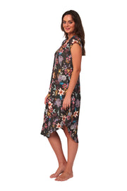 Free Spirit Cap Sleeve Dress - Clothing - Monte & Lou