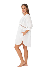 ML Separates Resort Shirt Dress - Monte & Lou
