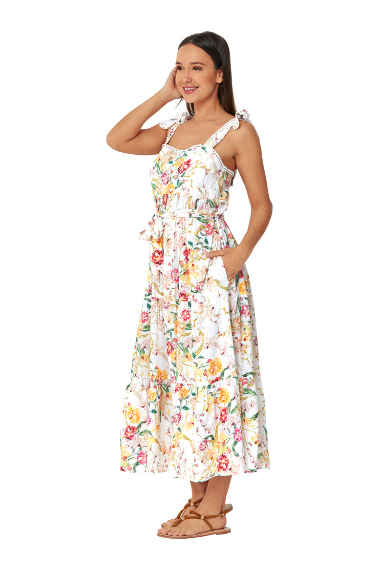 Sasha Tie shoulder Sundress