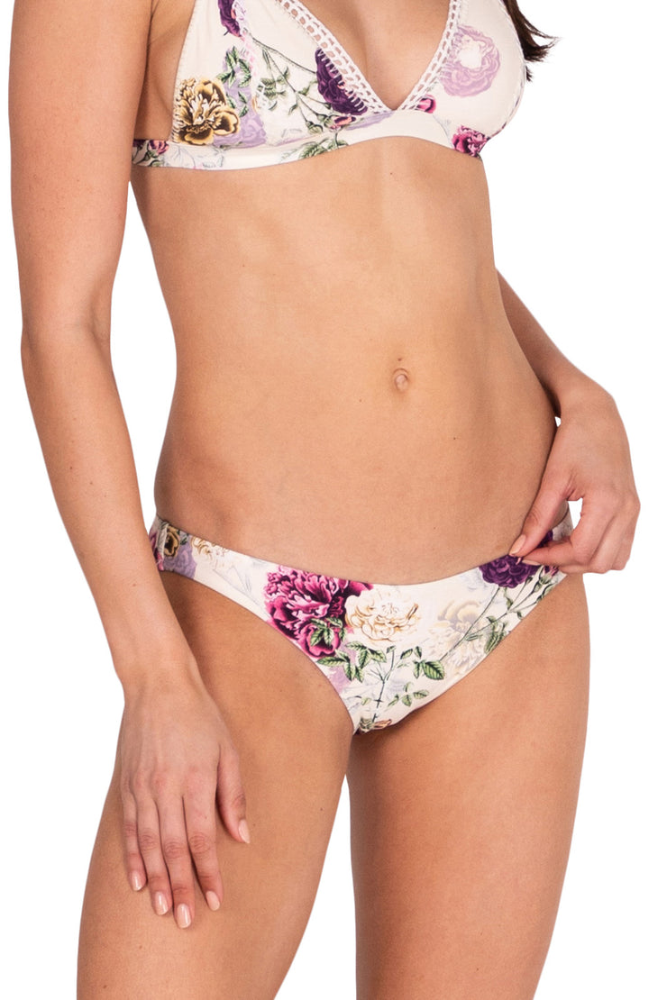 Cabbage Rose Hipster Pant - Bikini Bottoms - Monte & Lou