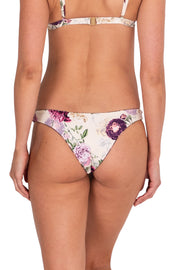 Cabbage Rose Reversible Skimpy Pant - Bikini Bottoms - Monte & Lou
