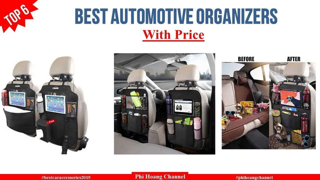 Top 6 Automotive Organizers With Price – Best Car Accessories 2019