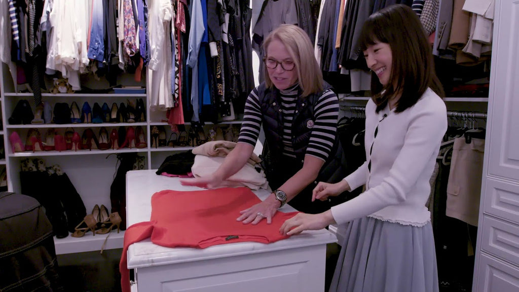 "Marie Kondo brings her world-renowned tidying expertise to my closet, where—let's just say—not everything is ""sparking joy."" She joins my podcast to discuss ..."
