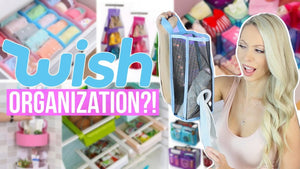 Today I'm testing cheap wish home organization and kitchen products in a haul and review