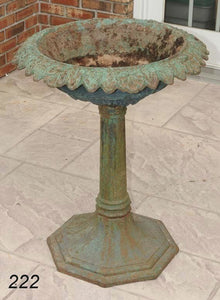 New Cast Iron Bird Bath