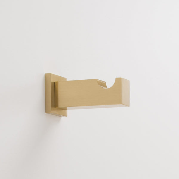 Breyman Wall Hook - Natural Brass