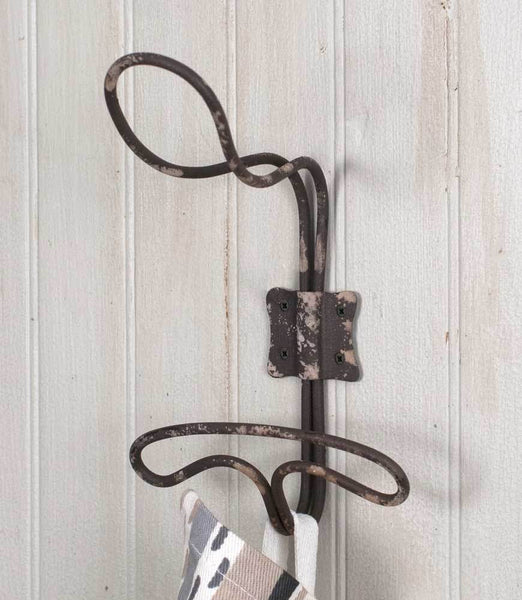 Wire Locker Room Wall Hook - Set of 4