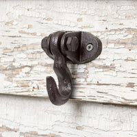 Cast Iron Ceiling/Wall Hook (Set of 4)