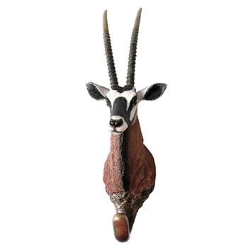 Gemsbuck Wall Hook