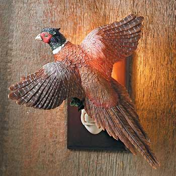 Flying Pheasant Night Light