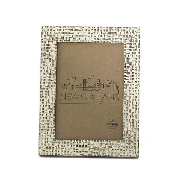 4x6 Picture Frames Distressed Gold - Mount Desktop Display, Frames by EcoHome