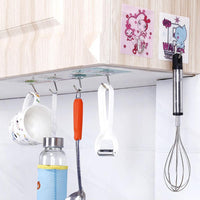Creative Universal Super Strong Suction Wall Stick Hook Hanger Nail-free Holder Up for Kitchen Bathroom Tool Wall Hook Dropship